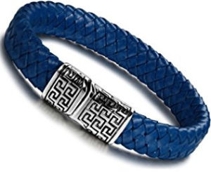 Stunning blue bracelet for men