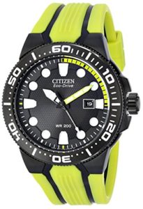 citizen yellow watch