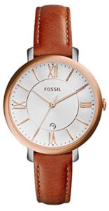 fossil brown watch