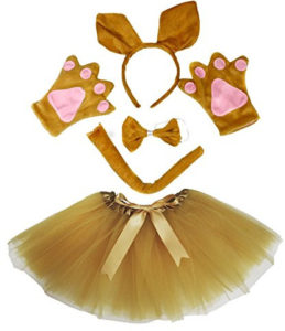 girls kangaroo tutu costume