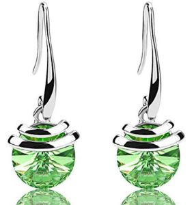 green French drop earrings