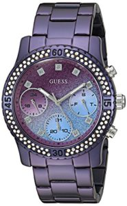 guess purple watch