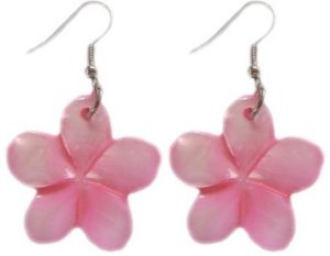 Hawaiian shell earrings