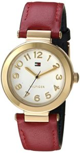 hilfiger red watch