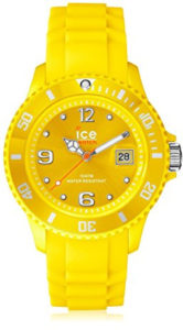 ice yellow watch