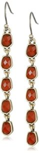 lucky brand red earrings