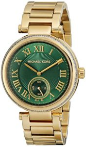 michael kors green watch