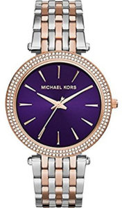 michael kors purple watch