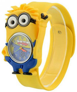 minions yellow watch