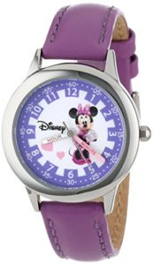minnie mouse purple watch