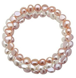 Multicolored pink bracelet