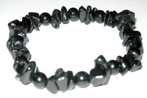black tourmaline and ibsidian bracelet