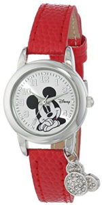 mickey mouse red watch