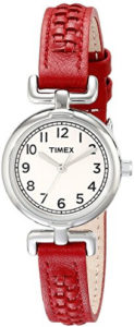 timex red watch