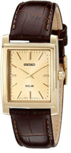 seiko brown watch