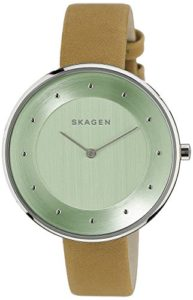 skagen green watch