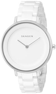 skagen white watch