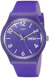 swatch purple watch