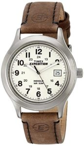timex brown watch