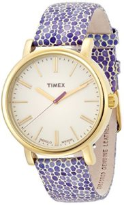 timex purple watch