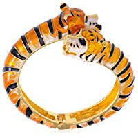 orange twin tiger bracelet