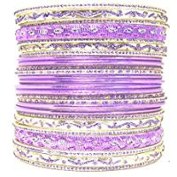 26 purple bracelet set
